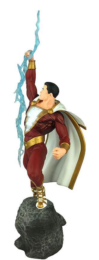 SHAZAM STATUE DC COMICS GALLERY DIAMOND SELECT TOYS 28 CM (2) 699788830697 kingdom-figurine.fr