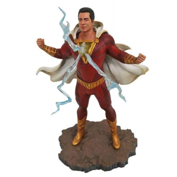 SHAZAM STATUETTE DC MOVIE GALLERY DIAMOND SELECT TOYS 23 CM (1) 699788834879 kingdom-figurine.fr