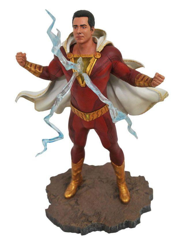 SHAZAM STATUETTE DC MOVIE GALLERY DIAMOND SELECT TOYS 23 CM (1bis) 699788834879 kingdom-figurine.fr