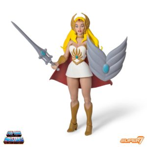 SHE-RA FIGURINE MASTERS OF THE UNIVERSE CLASSICS CLUB GRAYSKULL WAVE 3 SUPER7 SUP7-MOTU-CGW3-SR kingdom-figurine.fr