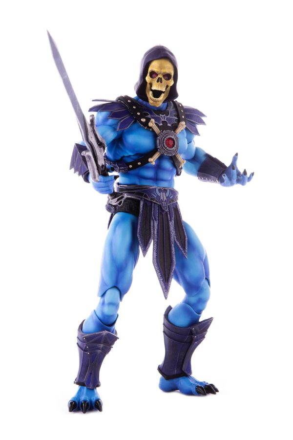 SKELETOR FIGURINE 1-6 MASTERS OF THE UNIVERSE MONDO 30 CM (1) 850972006650 kingdom-figurine.fr
