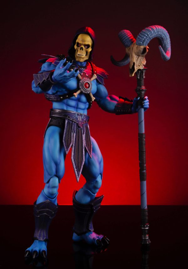 SKELETOR FIGURINE 1-6 MASTERS OF THE UNIVERSE MONDO 30 CM (12) 850972006650 kingdom-figurine.fr