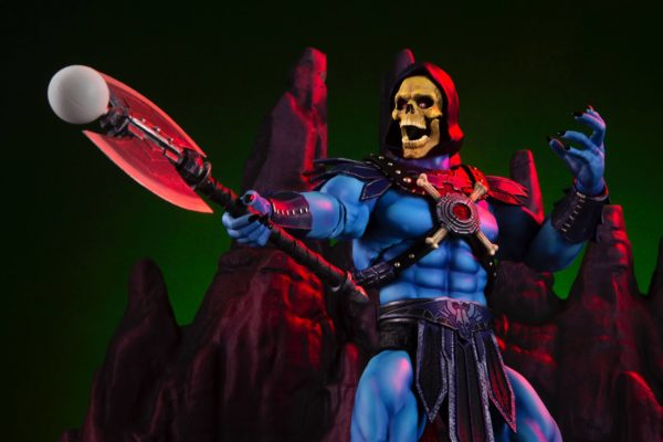SKELETOR FIGURINE 1-6 MASTERS OF THE UNIVERSE MONDO 30 CM (14) 850972006650 kingdom-figurine.fr