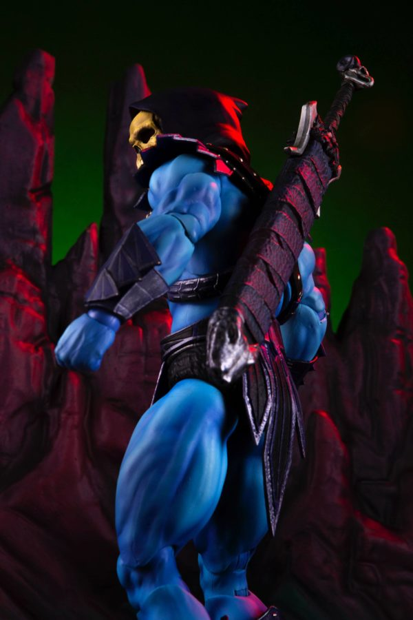 SKELETOR FIGURINE 1-6 MASTERS OF THE UNIVERSE MONDO 30 CM (15) 850972006650 kingdom-figurine.fr