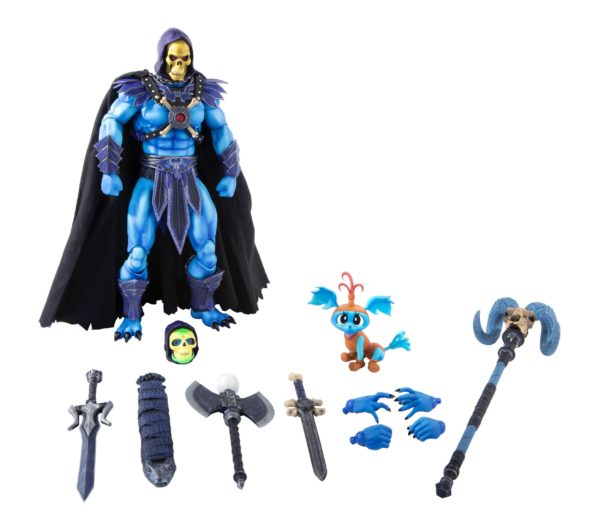 SKELETOR FIGURINE 1-6 MASTERS OF THE UNIVERSE MONDO 30 CM (1bis) 850972006650 kingdom-figurine.fr