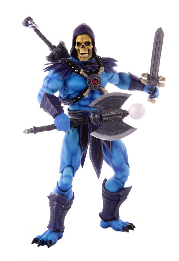 SKELETOR FIGURINE 1-6 MASTERS OF THE UNIVERSE MONDO 30 CM (3) 850972006650 kingdom-figurine.fr