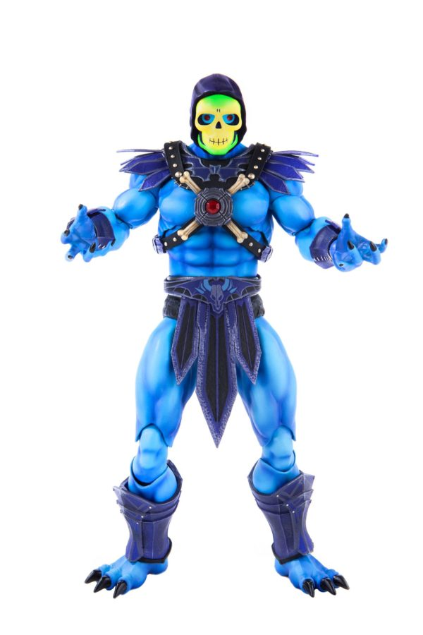 SKELETOR FIGURINE 1-6 MASTERS OF THE UNIVERSE MONDO 30 CM (5) 850972006650 kingdom-figurine.fr