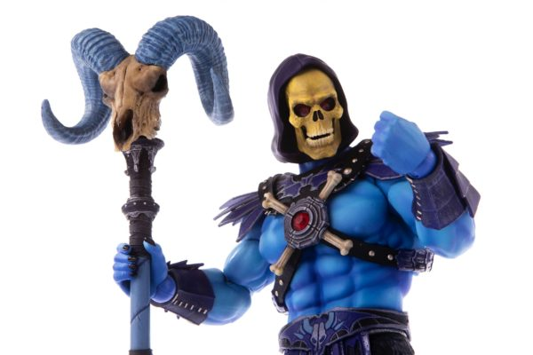 SKELETOR FIGURINE 1-6 MASTERS OF THE UNIVERSE MONDO 30 CM (9) 850972006650 kingdom-figurine.fr