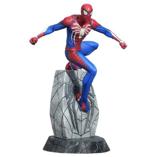 SPIDER-MAN STATUETTE MARVEL VIDEO GAMES GALLERY DIAMOND SELECT TOYS 25 CM (1) 699788834046 kingdom-figurine.fr