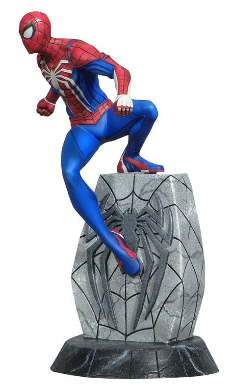 SPIDER-MAN STATUETTE MARVEL VIDEO GAMES GALLERY DIAMOND SELECT TOYS 25 CM (2) 699788834046 kingdom-figurine.fr