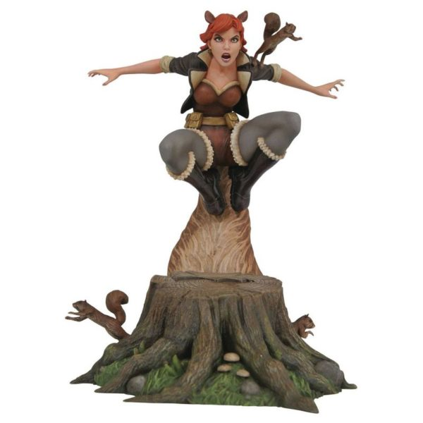 SQUIRELL GIRL STATUE MARVEL COMIC GALLERY DIAMOND SELECT TOYS 25 CM (1) 699788825662 kingdom-figurine.fr