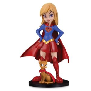 SUPERGIRL BY CHRISSIE ZULLO FIGURINE DC ARTISTS ALLEY DC COLLECTIBLES 17 CM (1) 761941355856 kingdom-figurine.fr