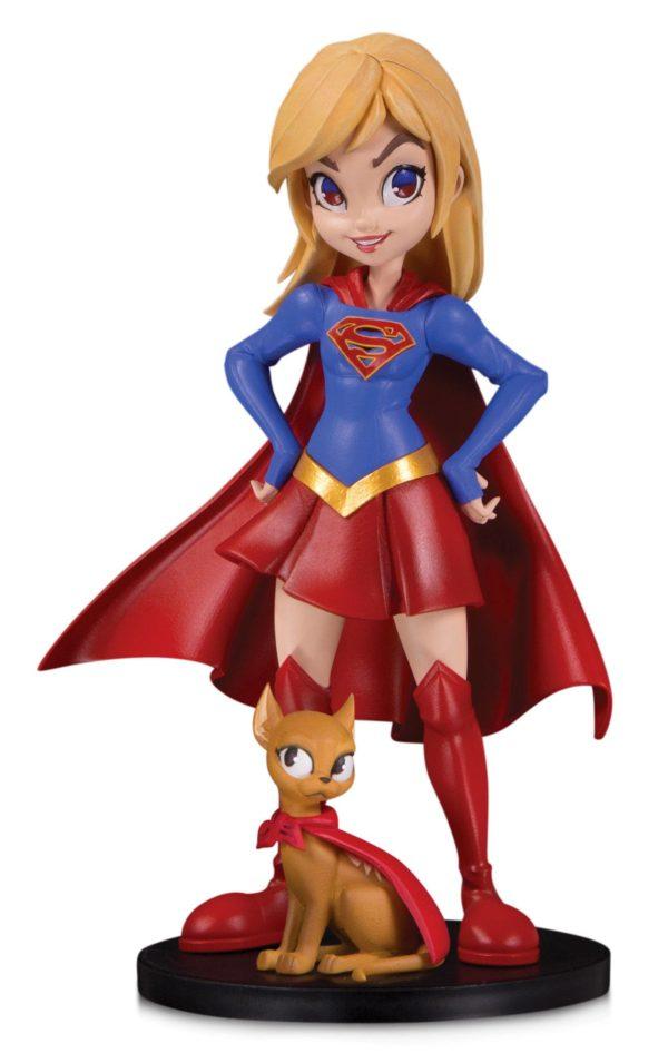 SUPERGIRL BY CHRISSIE ZULLO FIGURINE DC ARTISTS ALLEY DC COLLECTIBLES 17 CM (1bis) 761941355856 kingdom-figurine.fr