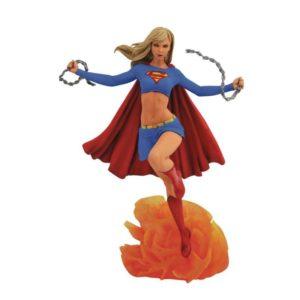 SUPERGIRL STATUE DC COMIC GALLERY DIAMOND SELECT TOYS 25 CM (1) 699788829264 kingdom-figurine.fr