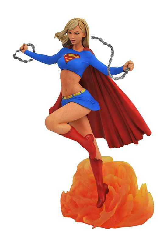 SUPERGIRL STATUE DC COMIC GALLERY DIAMOND SELECT TOYS 25 CM (2) 699788829264 kingdom-figurine.fr