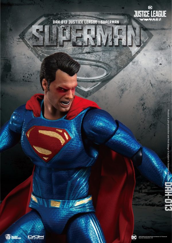 SUPERMAN FIGURINE JUSTICE LEAGUE DYNAMIC ACTION HEROES BEAST KINGDOM TOYS 20 CM (4) 4713319859448 kingdom-figurine.fr
