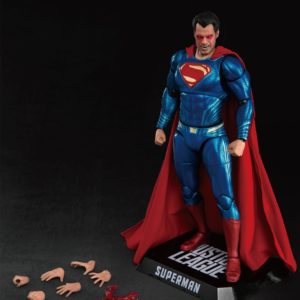 SUPERMAN FIGURINE JUSTICE LEAGUE DYNAMIC ACTION HEROES BEAST KINGDOM TOYS 20 CM 4713319859448 kingdom-figurine.fr