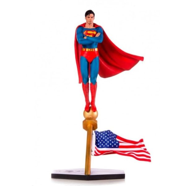 SUPERMAN THE MOVIE 1978 STATUE 1-10 DELUXE ART SCALE DC COMICS IRON STUDIOS 35 CM (1) 606529302634 kingdom-figurine.fr