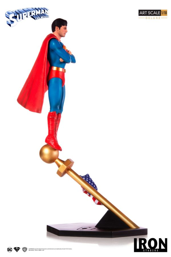 SUPERMAN THE MOVIE 1978 STATUE 1-10 DELUXE ART SCALE DC COMICS IRON STUDIOS 35 CM (2) 606529302634 kingdom-figurine.fr
