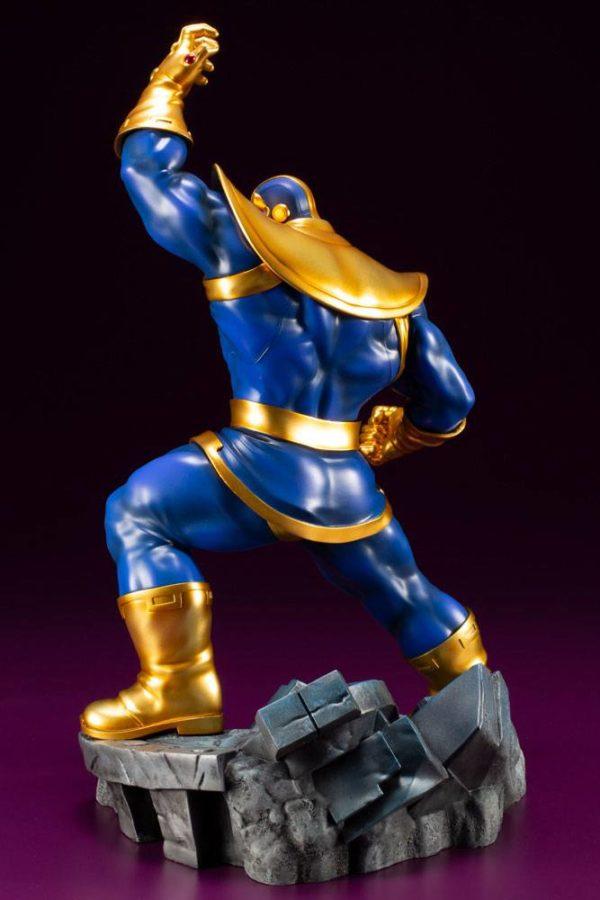 THANOS STATUE ARTFX+ 1-10 MARVEL COMICS AVENGERS SERIES KOTOBUKIYA 28 CM (4) 4934054093564 kingdom-figurine.fr