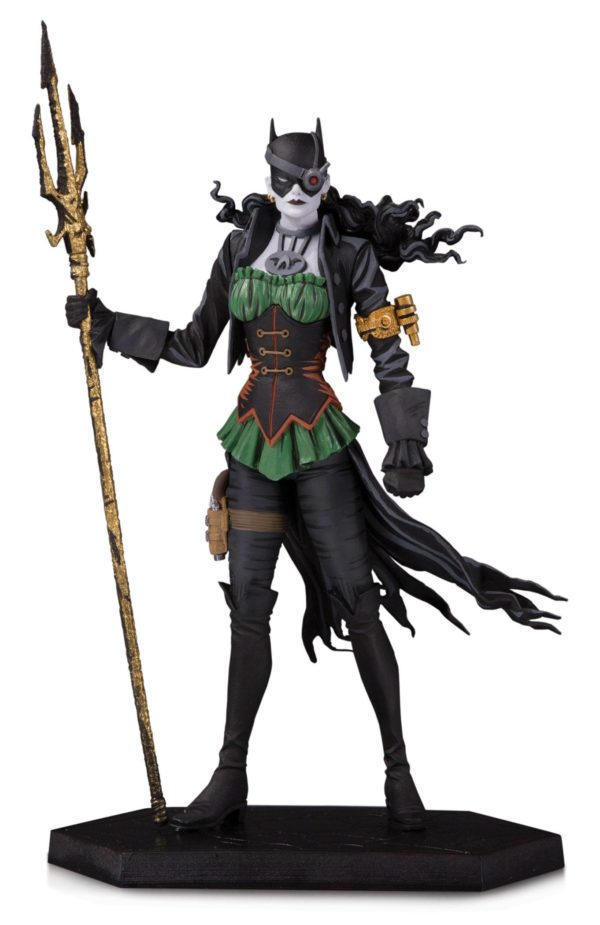THE DROWNED STATUE DARK NIGHTS METAL DC COLLECTIBLES 18 CM (1bis) 761941358857 kingdom-figurine.fr