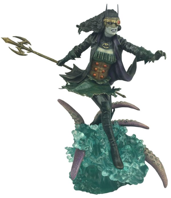THE DROWNED STATUE DARK NIGHTS METAL DC COMIC GALLERY DIAMOND SELECT TOYS 25 CM (1bis) 699788833377 kingdom-figurine.fr