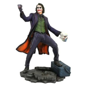 THE JOKER STATUE THE DARK KNIGHT DC MOVIE GALLERY DIAMOND SELECT TOYS 23 CM (1bis) 699788832837 kingdom-figurine.fr