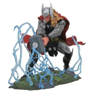 THOR STATUE MARVEL COMIC GALLERY DIAMOND SELECT TOYS 20 CM (1) 699788828441 kingdom-figurine.fr