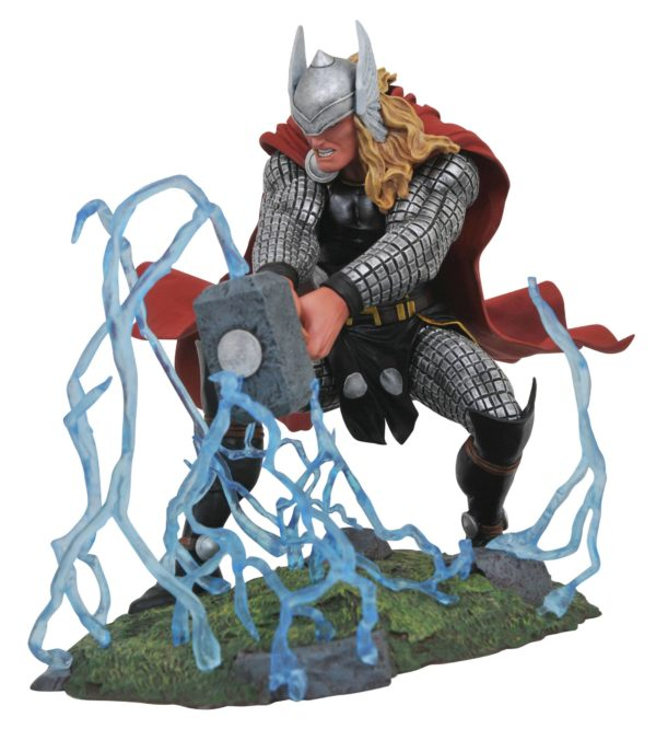 THOR STATUE MARVEL COMIC GALLERY DIAMOND SELECT TOYS 20 CM (1bis) 699788828441 kingdom-figurine.fr
