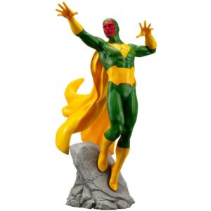 VISION STATUE MARVEL COMICS STATUE ARTFX+ 1-10 KOTOBUKIYA 22 CM (1) 4934054093557 kingdom-figurine.fr