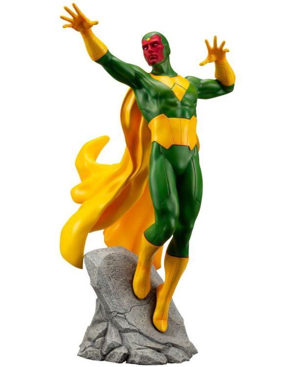VISION STATUE MARVEL COMICS STATUE ARTFX+ 1-10 KOTOBUKIYA 22 CM (1bis) 4934054093557 kingdom-figurine.fr