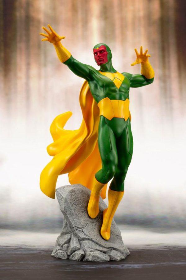 VISION STATUE MARVEL COMICS STATUE ARTFX+ 1-10 KOTOBUKIYA 22 CM (2) 4934054093557 kingdom-figurine.fr