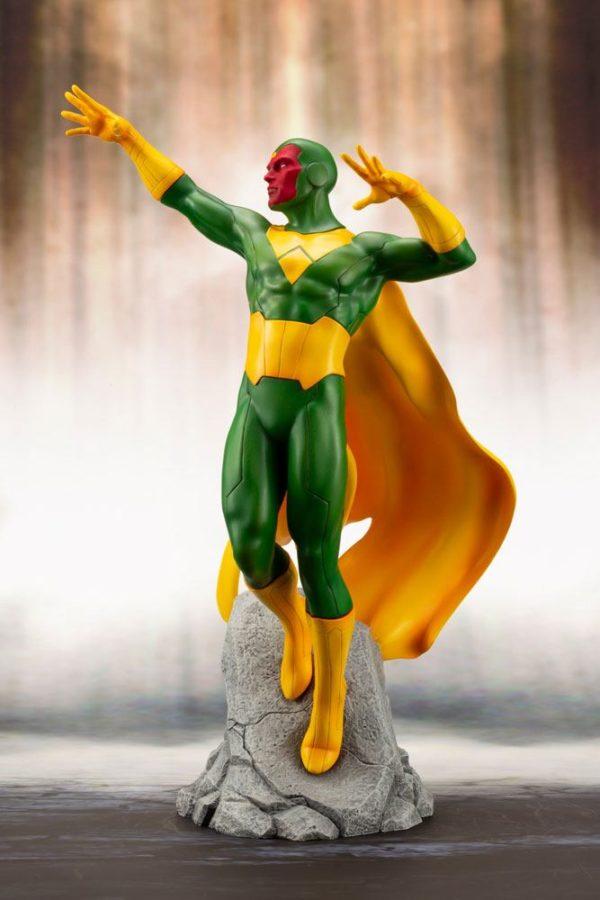 VISION STATUE MARVEL COMICS STATUE ARTFX+ 1-10 KOTOBUKIYA 22 CM (3) 4934054093557 kingdom-figurine.fr