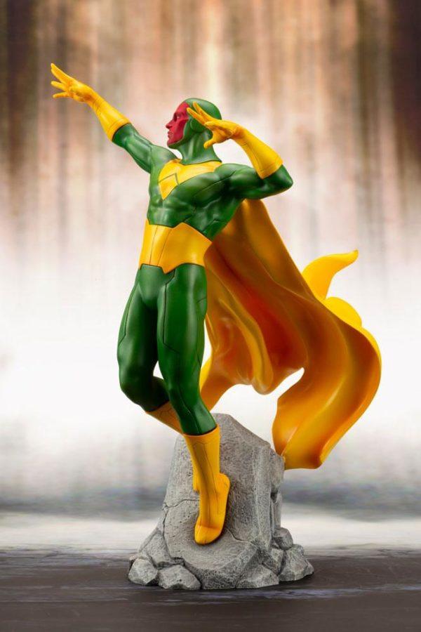 VISION STATUE MARVEL COMICS STATUE ARTFX+ 1-10 KOTOBUKIYA 22 CM (4) 4934054093557 kingdom-figurine.fr