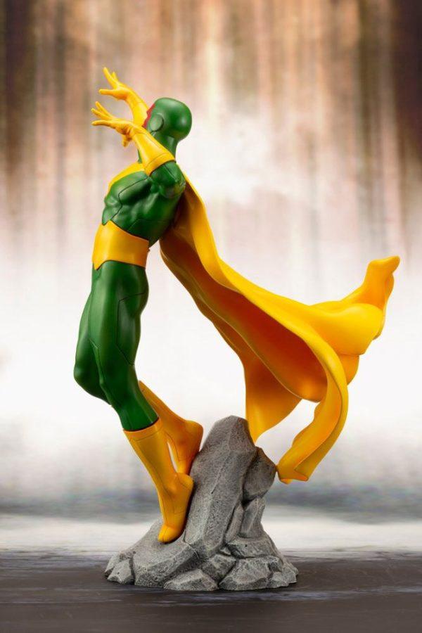 VISION STATUE MARVEL COMICS STATUE ARTFX+ 1-10 KOTOBUKIYA 22 CM (5) 4934054093557 kingdom-figurine.fr