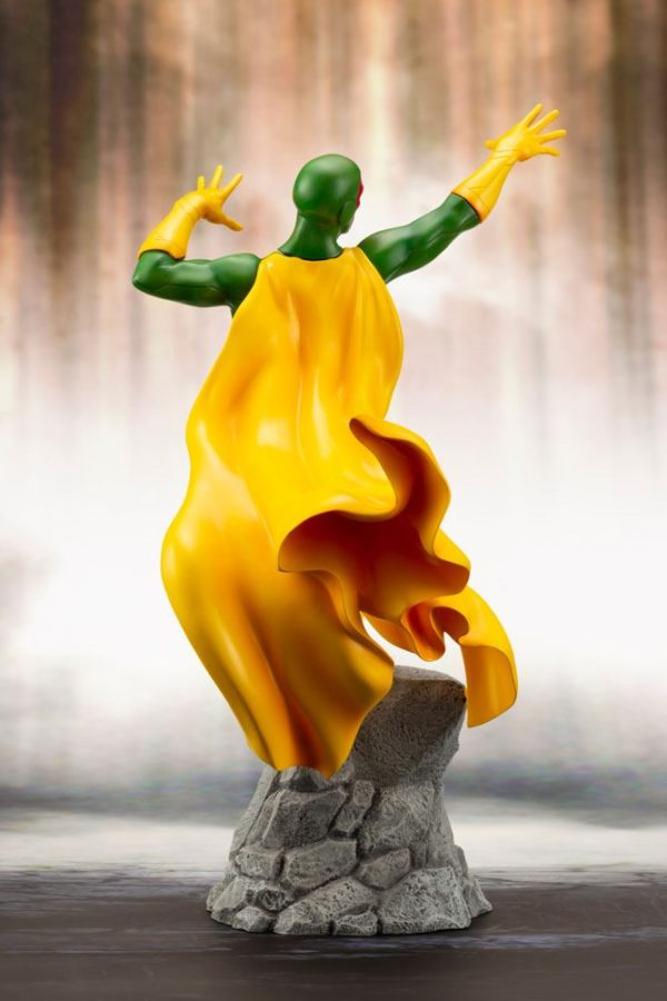 VISION STATUE MARVEL COMICS STATUE ARTFX+ 1-10 KOTOBUKIYA 22 CM (7) 4934054093557 kingdom-figurine.fr