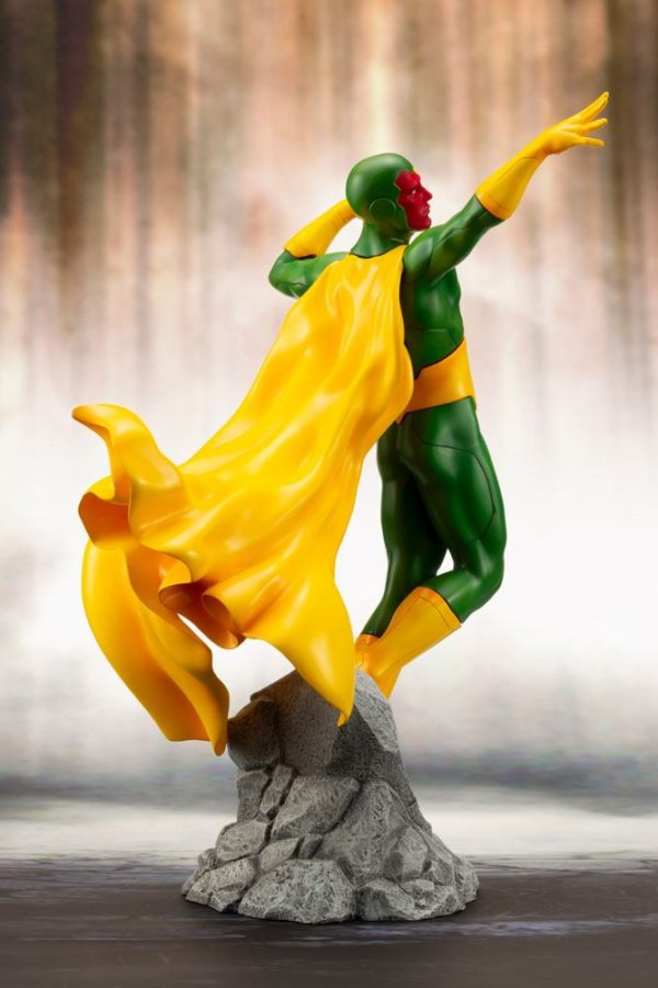 VISION STATUE MARVEL COMICS STATUE ARTFX+ 1-10 KOTOBUKIYA 22 CM (8) 4934054093557 kingdom-figurine.fr