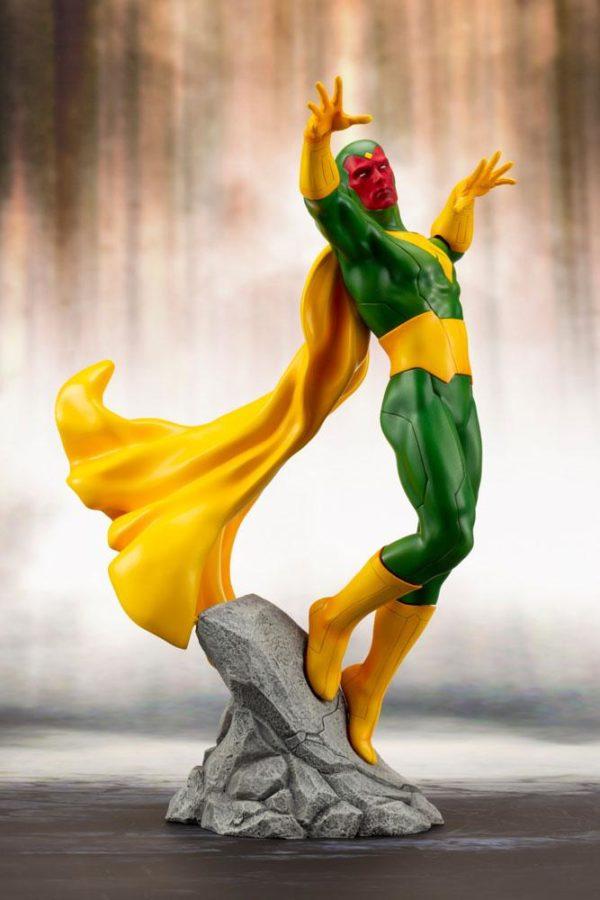 VISION STATUE MARVEL COMICS STATUE ARTFX+ 1-10 KOTOBUKIYA 22 CM (9) 4934054093557 kingdom-figurine.fr