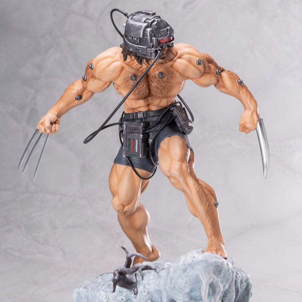 Statue résine de Weapon X