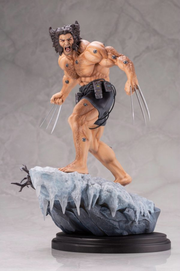 WEAPON X STATUE 1-6 MARVEL COMICS FINE ART KOTOBUKIYA 33 CM (10) 190526014671 kingdom-figurine.fr