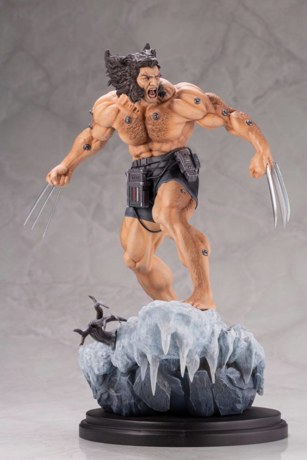 WEAPON X STATUE 1-6 MARVEL COMICS FINE ART KOTOBUKIYA 33 CM (11) 190526014671 kingdom-figurine.fr