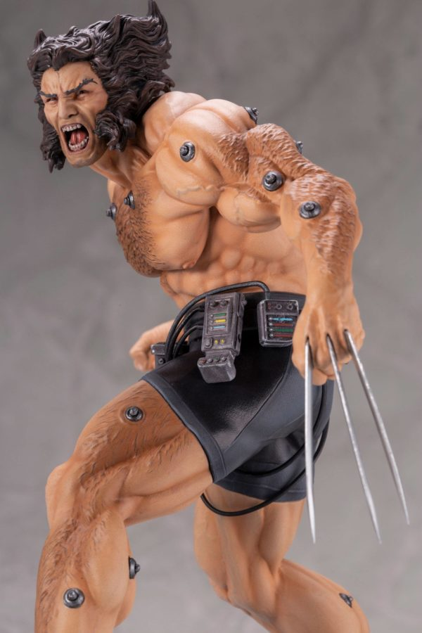 WEAPON X STATUE 1-6 MARVEL COMICS FINE ART KOTOBUKIYA 33 CM (12) 190526014671 kingdom-figurine.fr