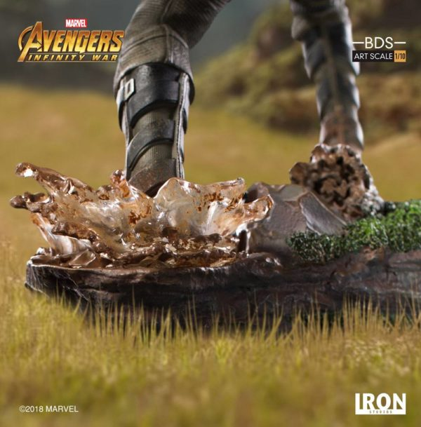 WINTER SOLDIER STATUE AVENGERS INFINITY WAR BDS ART SCALE IRON STUDIOS 20 CM (12) 751320773333 kingdom-figurine.fr