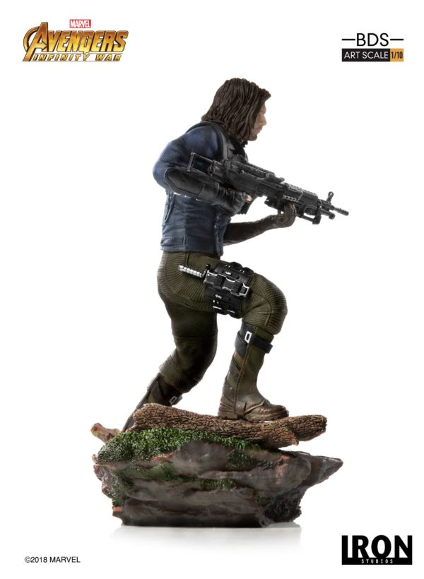 WINTER SOLDIER STATUE AVENGERS INFINITY WAR BDS ART SCALE IRON STUDIOS 20 CM (2) 751320773333 kingdom-figurine.fr