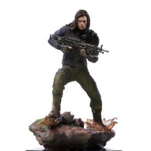 WINTER SOLDIER STATUE AVENGERS INFINITY WAR BDS ART SCALE IRON STUDIOS 20 CM (5) 751320773333 kingdom-figurine.fr