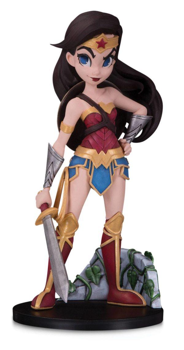 WONDER WOMAN BY CHRISSIE ZULLO FIGURINE DC ARTISTS ALLEY DC COLLECTIBLES 18 CM (1bis) 761941357157 kingdom-figurine.fr