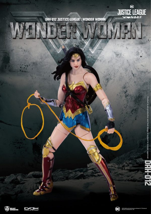 WONDER WOMAN FIGURINE JUSTICE LEAGUE DYNAMIC ACTION HEROES BEAST KINGDOM TOYS 19 CM (1) 4713319859431 kingdom-figurine.fr