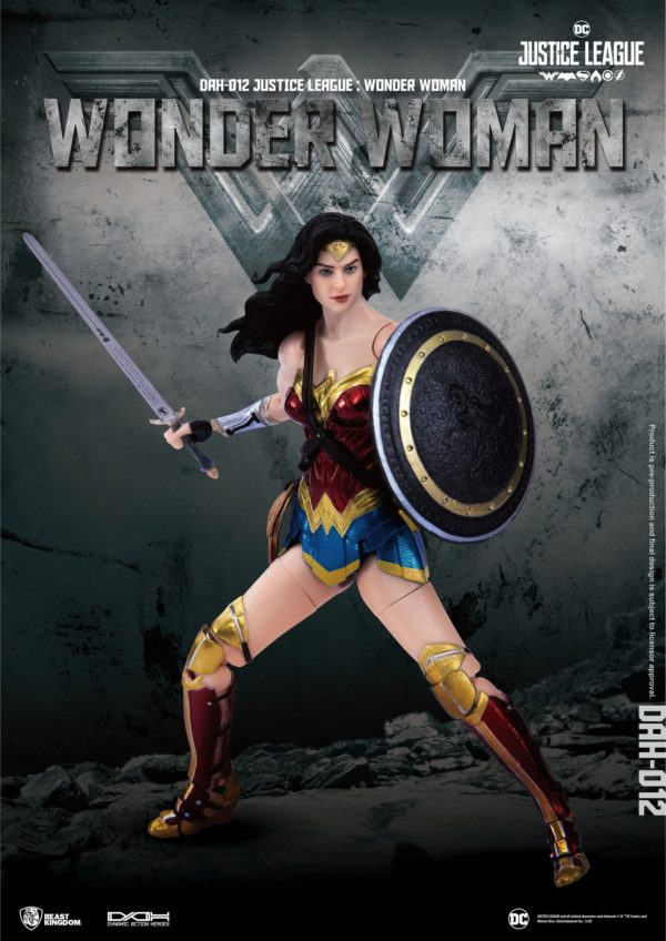 WONDER WOMAN FIGURINE JUSTICE LEAGUE DYNAMIC ACTION HEROES BEAST KINGDOM TOYS 19 CM (2) 4713319859431 kingdom-figurine.fr