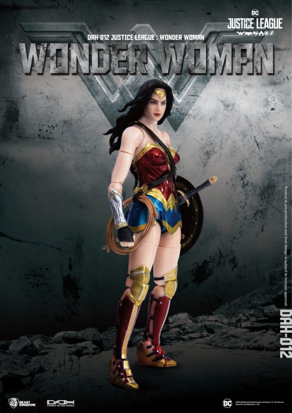 WONDER WOMAN FIGURINE JUSTICE LEAGUE DYNAMIC ACTION HEROES BEAST KINGDOM TOYS 19 CM (3) 4713319859431 kingdom-figurine.fr