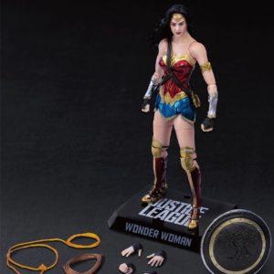 WONDER WOMAN FIGURINE JUSTICE LEAGUE DYNAMIC ACTION HEROES BEAST KINGDOM TOYS 19 CM 4713319859431 kingdom-figurine.fr